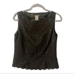 Austin Reed Lace Sleeveless Top Blouse
